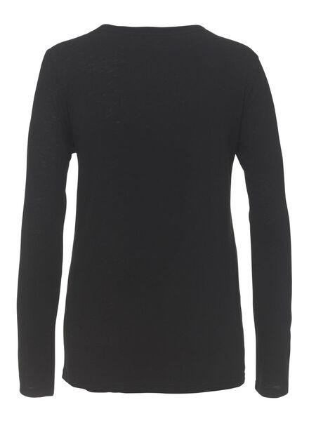dames pyjama zwart/wit zwart/wit - 1000009320 - HEMA