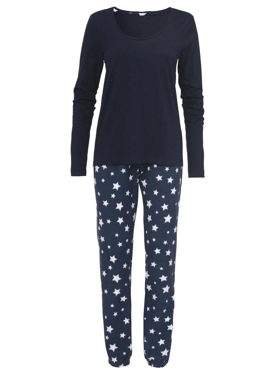 Dames Pyjama Blauw Hema