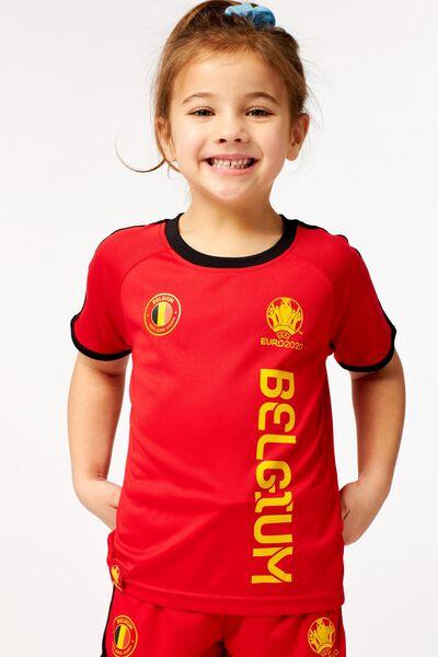 EK voetbal kinder t-shirt rood rood - 1000019552 - HEMA