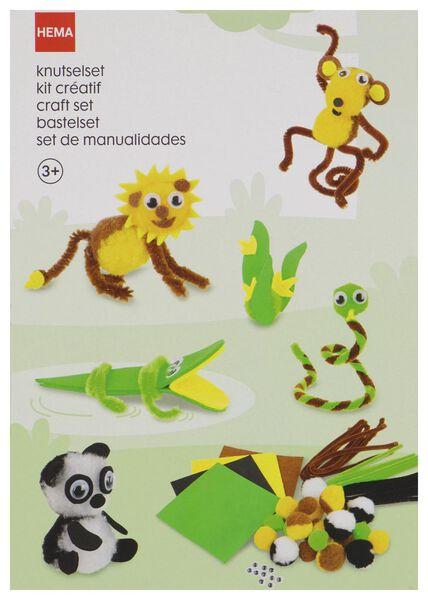 knutselset jungle - 15920086 - HEMA