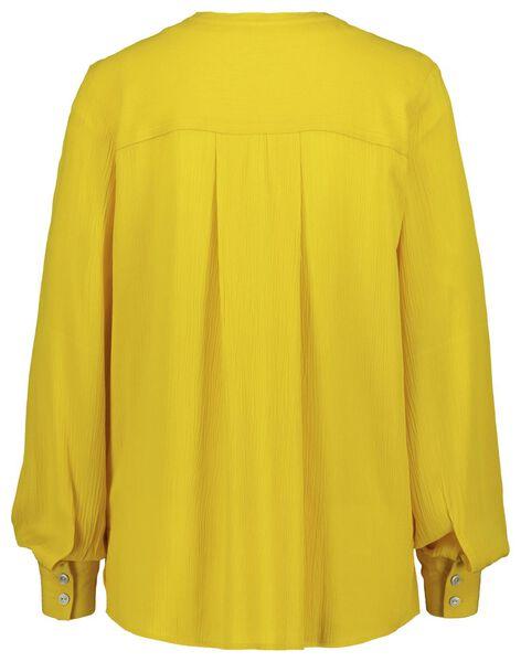 damesblouse geel XL - 36248109 - HEMA
