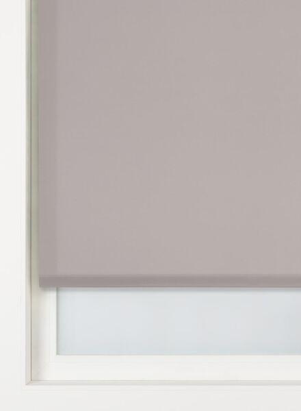 rolgordijn uni lichtdoorlatend taupe uni lichtdoorlatend - 7410335 - HEMA