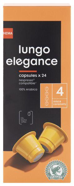koffiecups lungo elegance - 24 stuks - 17180001 - HEMA