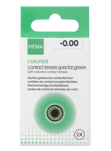 HEMA Gekleurde Lenzen Speciaal (groen)