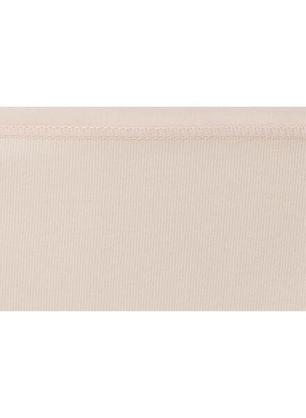 damesslip - real lasting cotton lichtroze lichtroze - 1000007983 - HEMA
