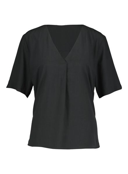 dames top zwart zwart - 1000013846 - HEMA