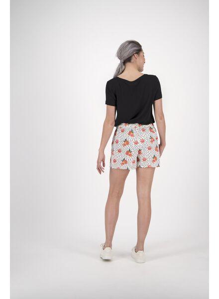 dames t-shirt zwart zwart - 1000013742 - HEMA