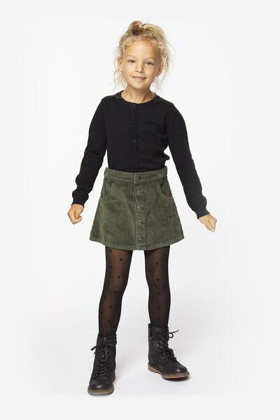 kindervest zwart 110/116 - 30812447 - HEMA