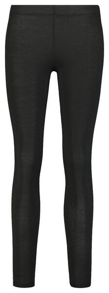 dames thermo legging zwart S - 19656951 - HEMA