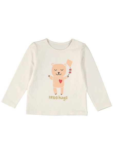 newborn setje legging met rok en t-shirt roze roze - 1000012748 - HEMA