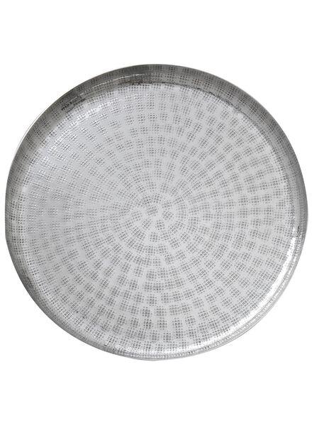 kaarsonderzetter - aluminium - 13320139 - HEMA