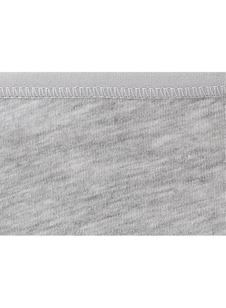 3-pak dameshipsters katoen grijsmelange XL - 19636040 - HEMA