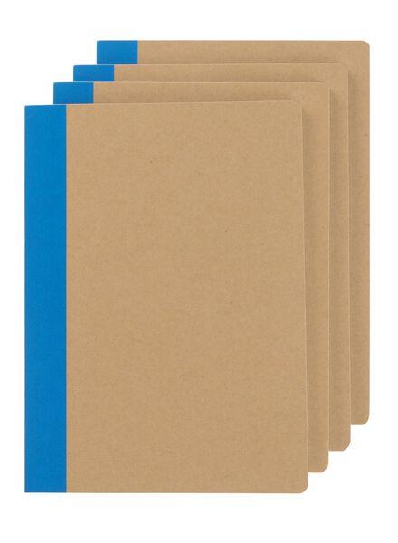 4-pak schriften A5 gelinieerd - 14160045 - HEMA
