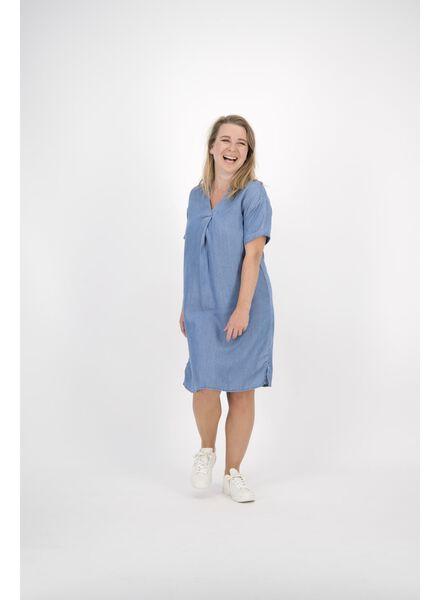 damesjurk lichtblauw lichtblauw - 1000013830 - HEMA