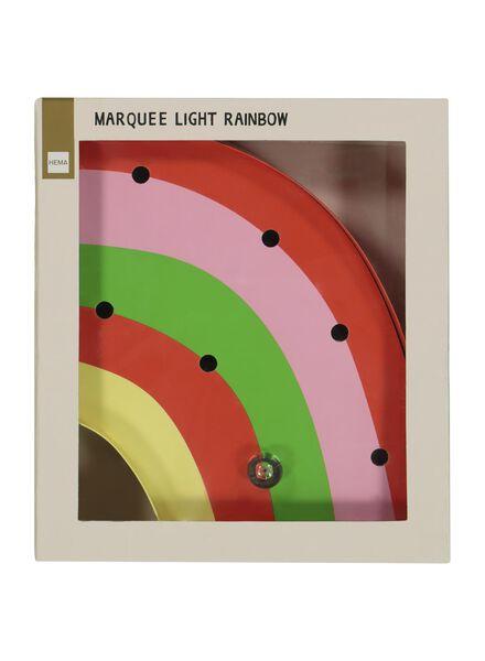 circusverlichting regenboog - 5x18x21 - 60100434 - HEMA