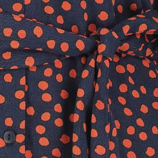 damesjurk oranje oranje - 1000020910 - HEMA