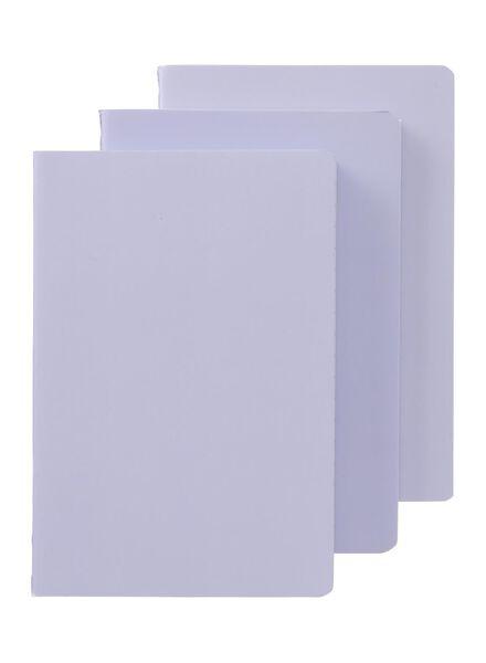 3-pak schriften A6 gelineerd - 14160302 - HEMA