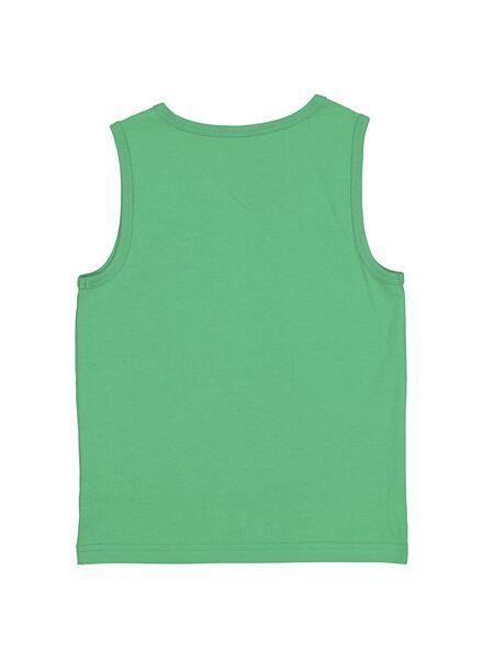 2-pak kinder singlets groen groen - 1000013942 - HEMA
