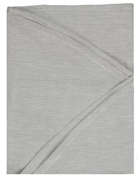 tafelkleed Ø180cm chambray grijs - 5300106 - HEMA