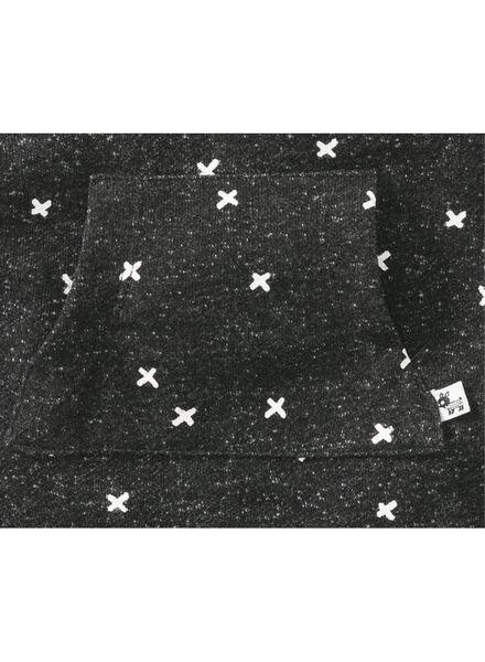 baby jumpsuit zwart zwart - 1000009343 - HEMA
