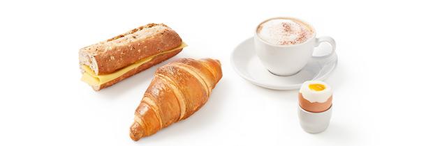 ontbijtje bij HEMA