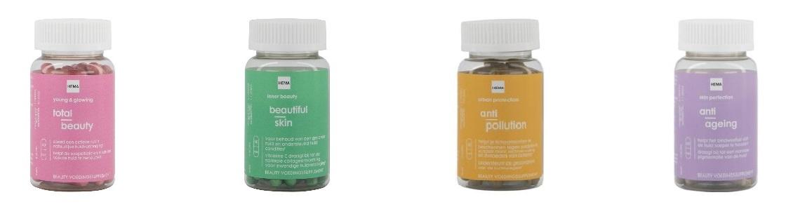 beauty supplementen HEMA