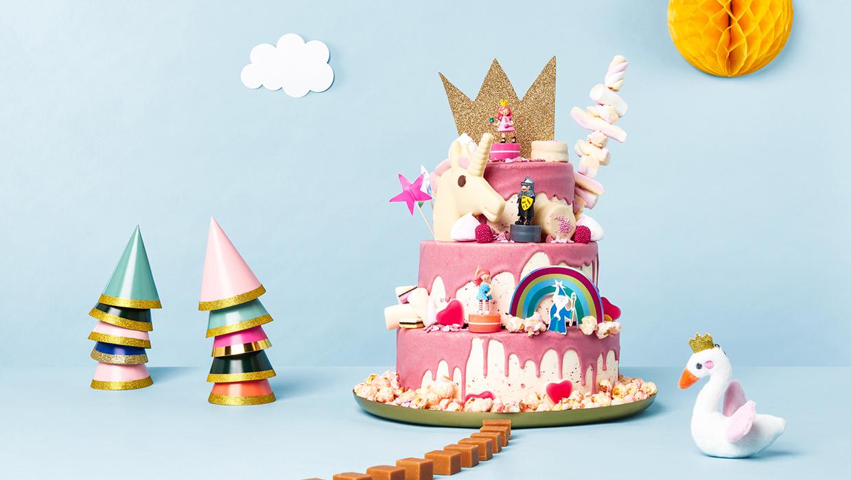 drip cakes - de leukste taarten - HEMA
