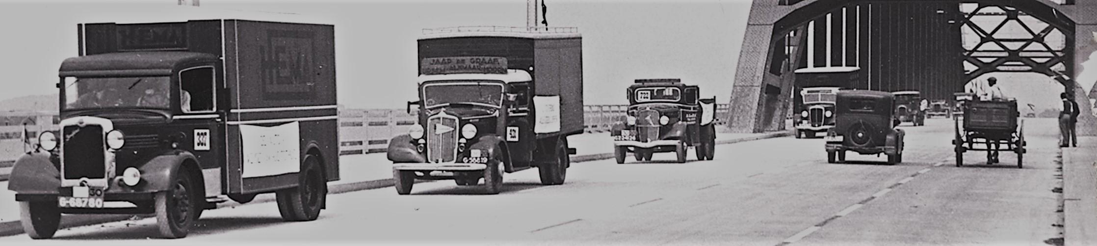 oude vrachwagens HEMA