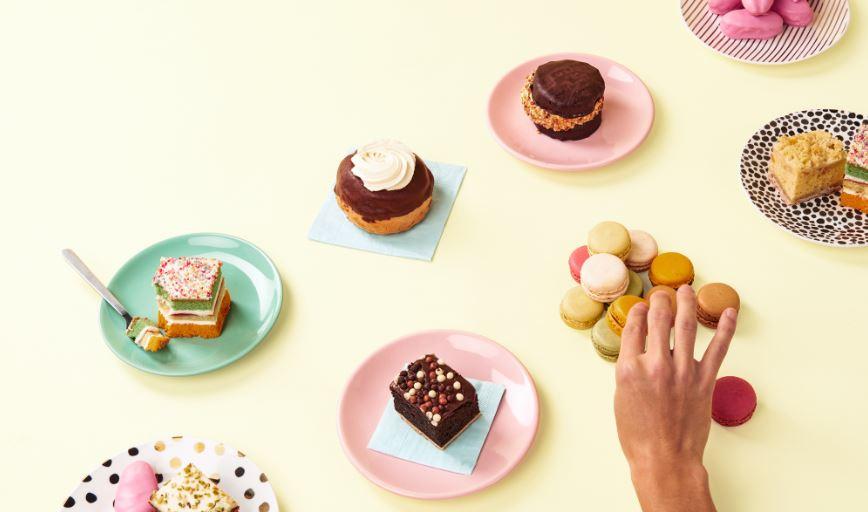 kleine gebakjes Amsterdam - HEMA