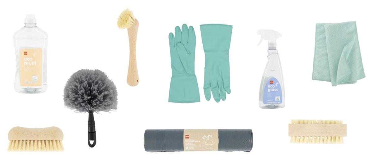 huis schoonmaken met HEMA