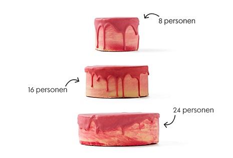 formaten drip cakes HEMA