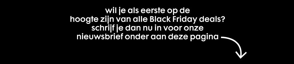 Black Friday hoge korting HEMA