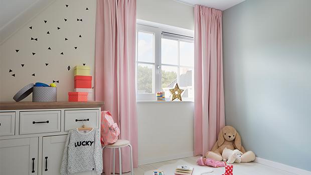 Gordijn Babykamer Babykamers : Qanhu leuke ontwerp blauw verduisterende gordijn panel voor