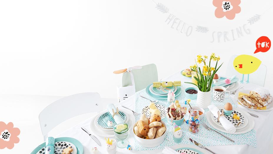 in het voorjaar <br>vind je hier weer <br>alles voor Pasen - Herobanner - HEMA