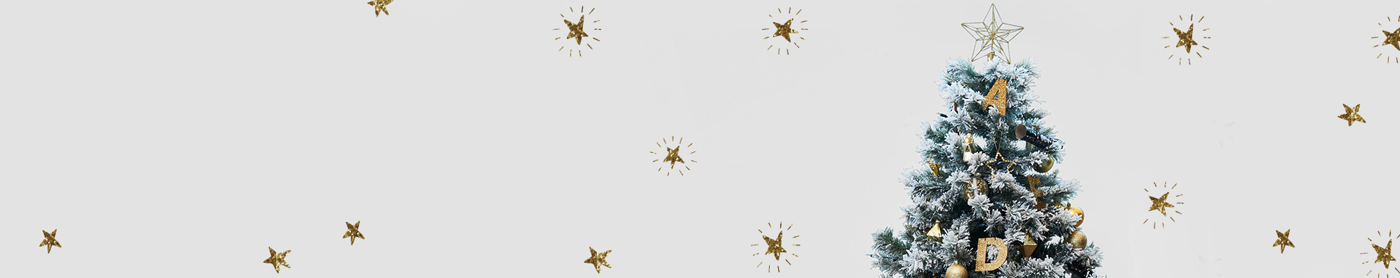 kerstslingers - Herobanner - HEMA